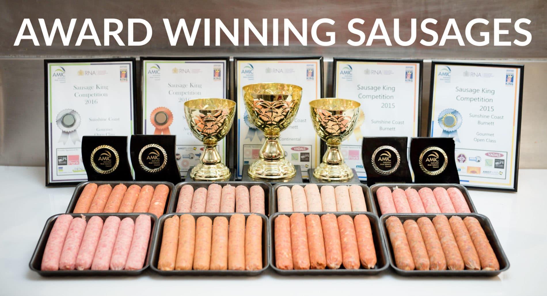 Gourmet Sausage King & Best Burger Champions
