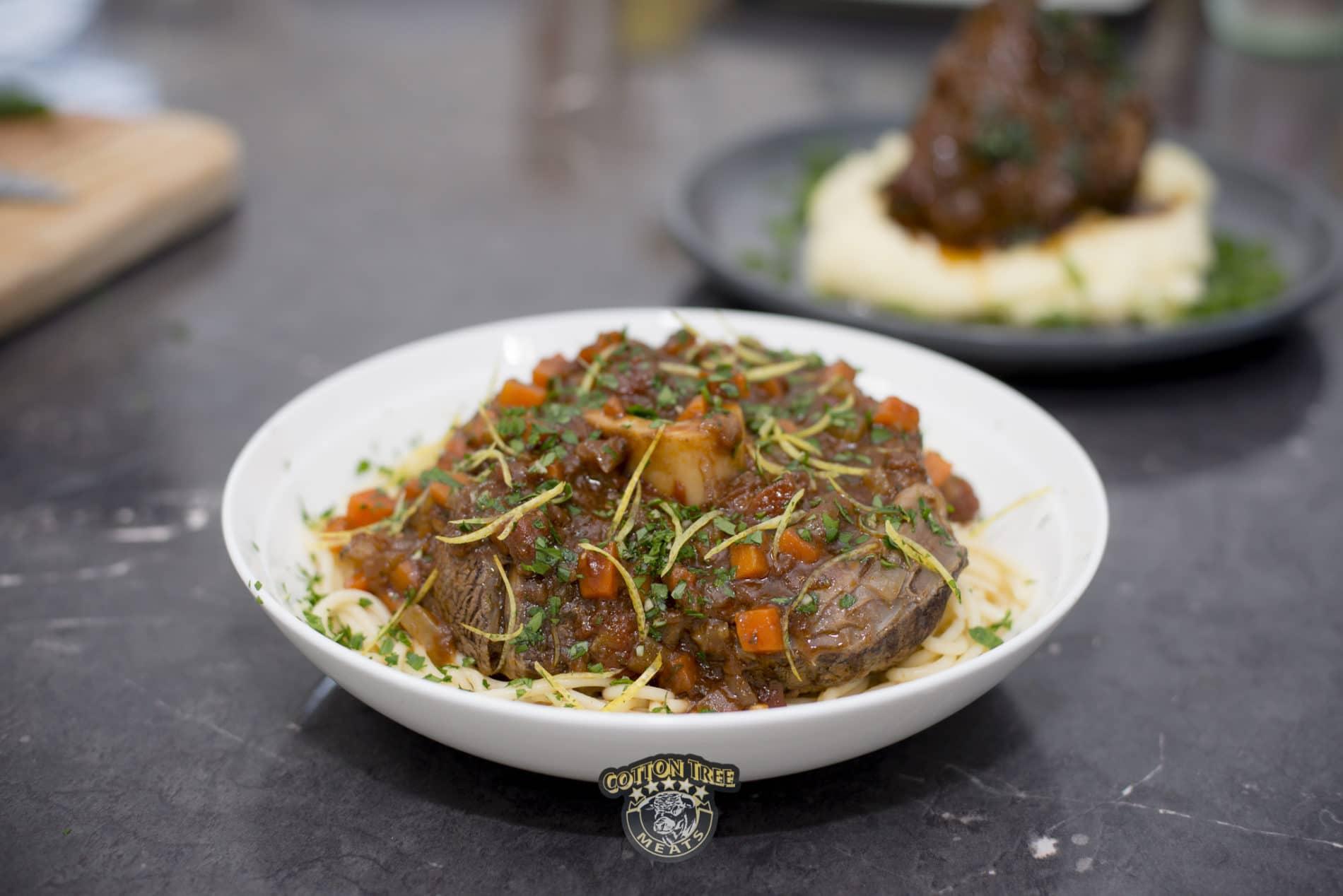 Italian Beef Osso Bucco and Gremolata
