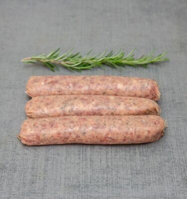Duck and Maple Sausages