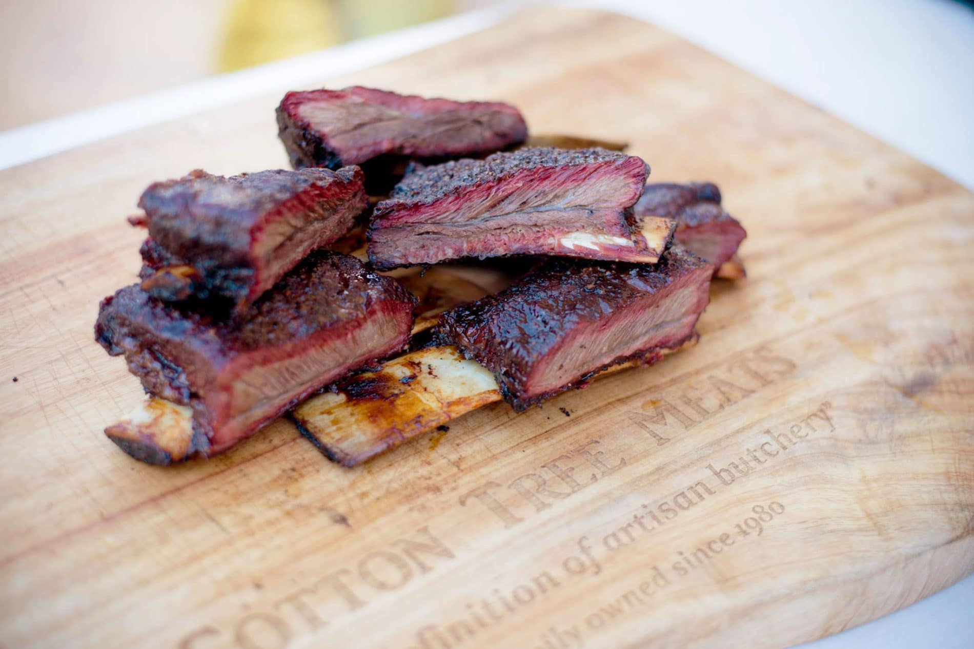 Low Slow Smoked Beef Short Ribs Cotton Tree Meats