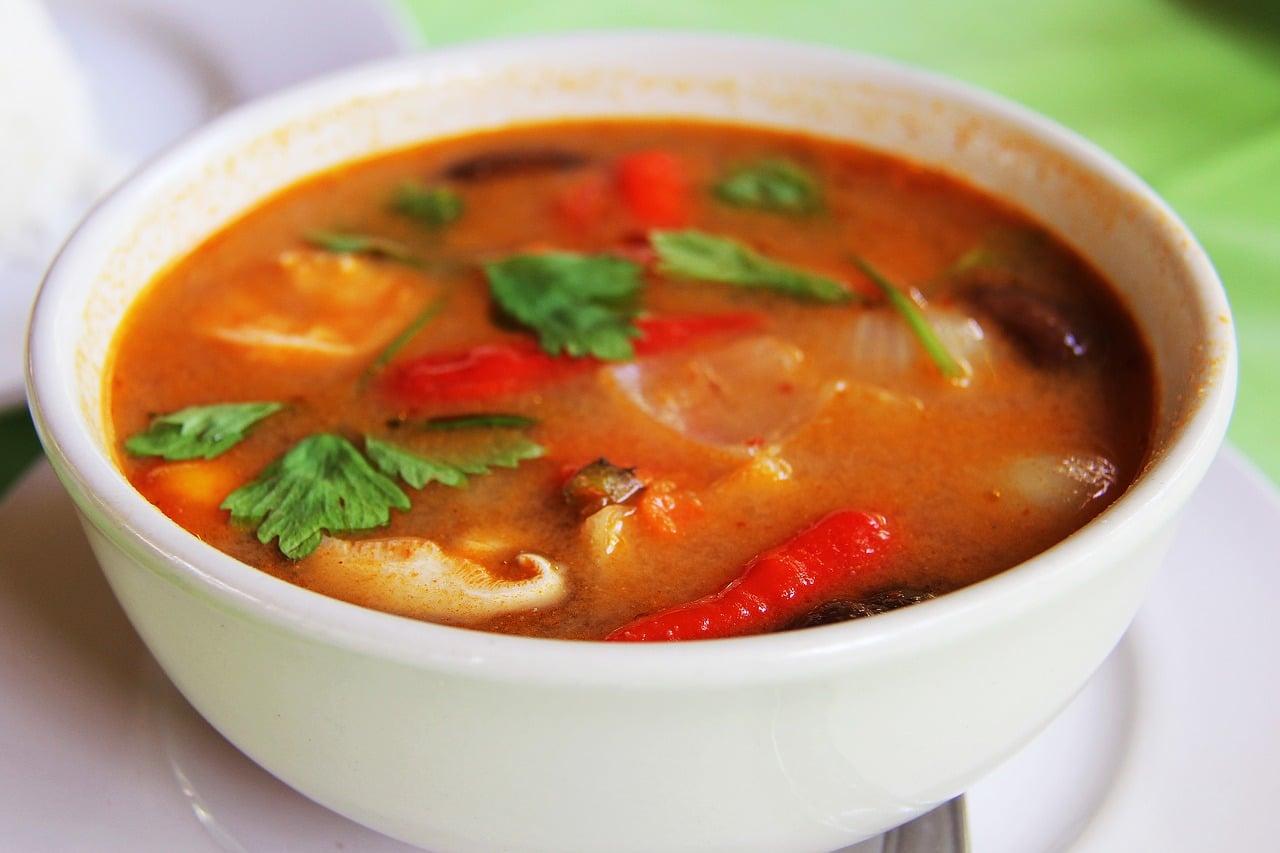 Chicken Penang Curry w/ Peppercorns & Pumpkin