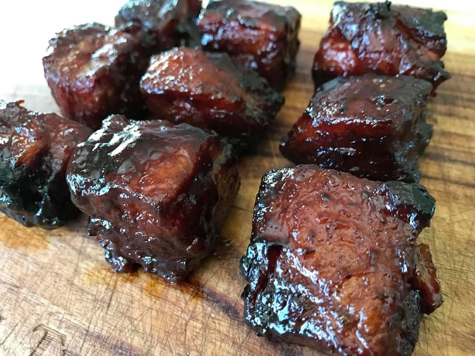 Low & Slow Pork Belly Burnt Ends