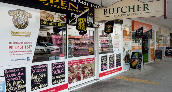 Cotton Tree Meats - Cotton Tree Butcher Store Front