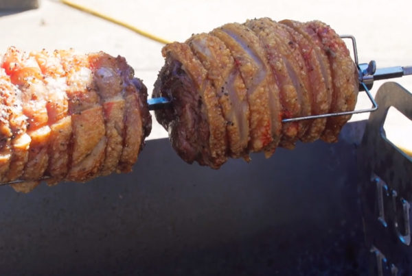 The Lamackle - Lamb with Pork Crackling